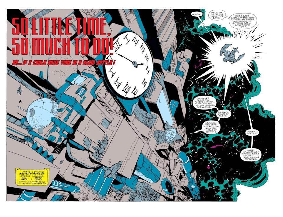 "The cover of the Fantastic Four comic, ""So Little Time, So Much to Do"""