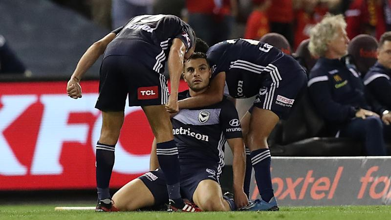 A-League Review: Nabbout's stoppage-time stunner completes Victory comeback