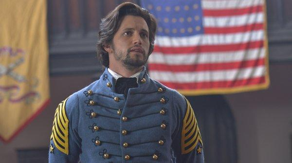 Nathan Parsons in 'Point of Honor'