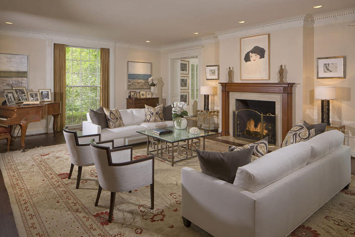 <p>While tasteful, we can see this classic style being updated a bit by Swift – if she has time. The 25-year-old's real estate portfolio is huge, and includes other properties in Beverly Hills, Nashville, Rhode Island and New York.</p>