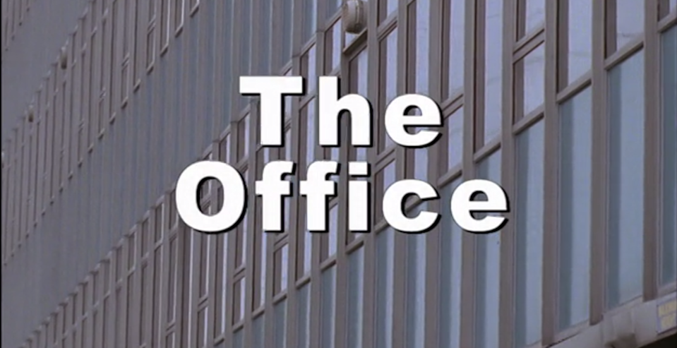 The Office's opening titles.(BBC)