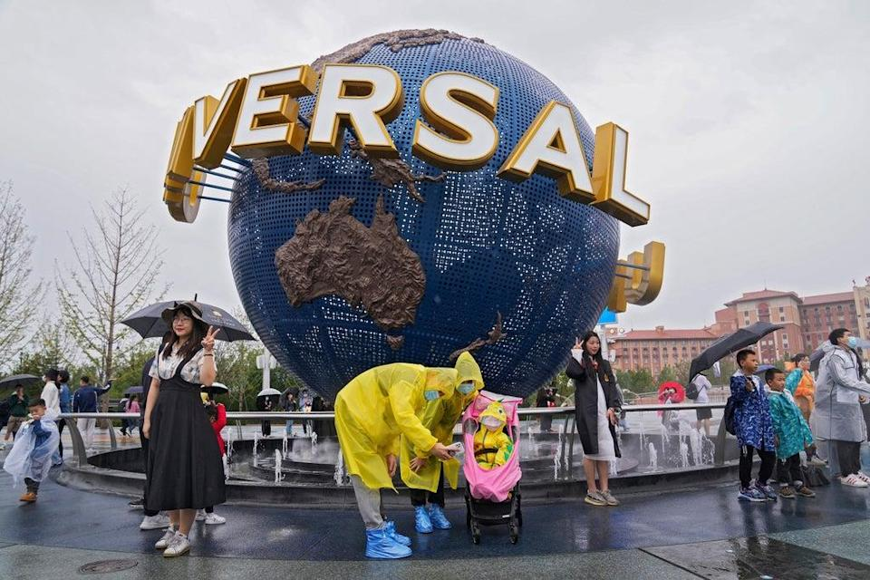 China Universal Studios (Copyright 2021 The Associated Press. All rights reserved)
