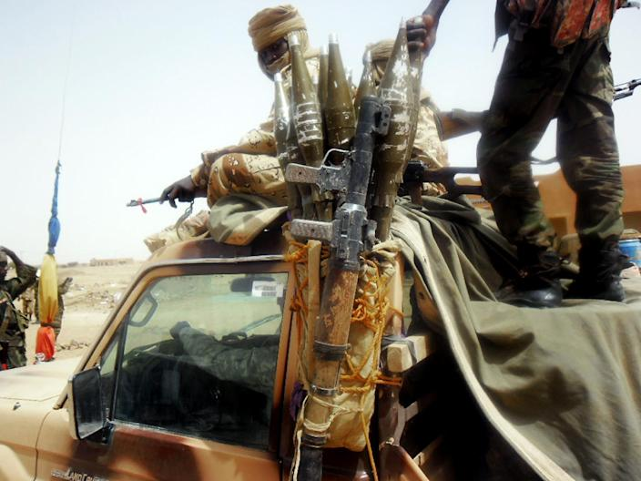 Chad's President Idriss Deby has sent Chadian troops to Cameroon to help combat Boko Haram (AFP Photo/-)