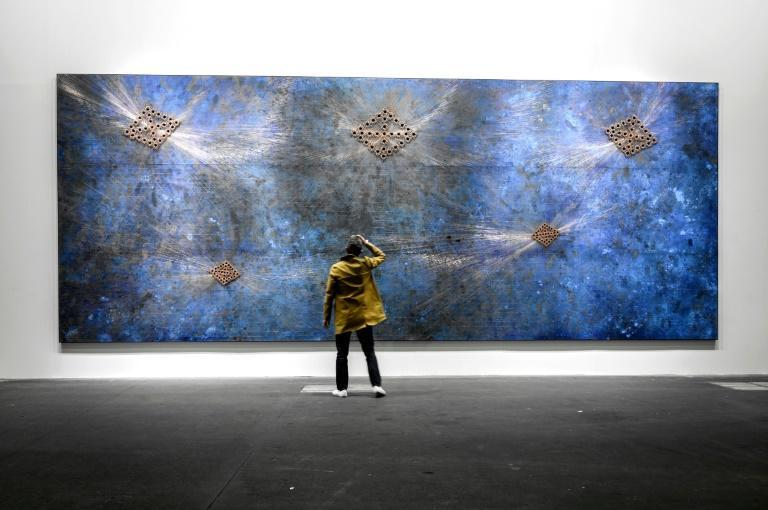 Art Basel has planned several online events, including virtual walks through the fair (AFP/Fabrice COFFRINI)