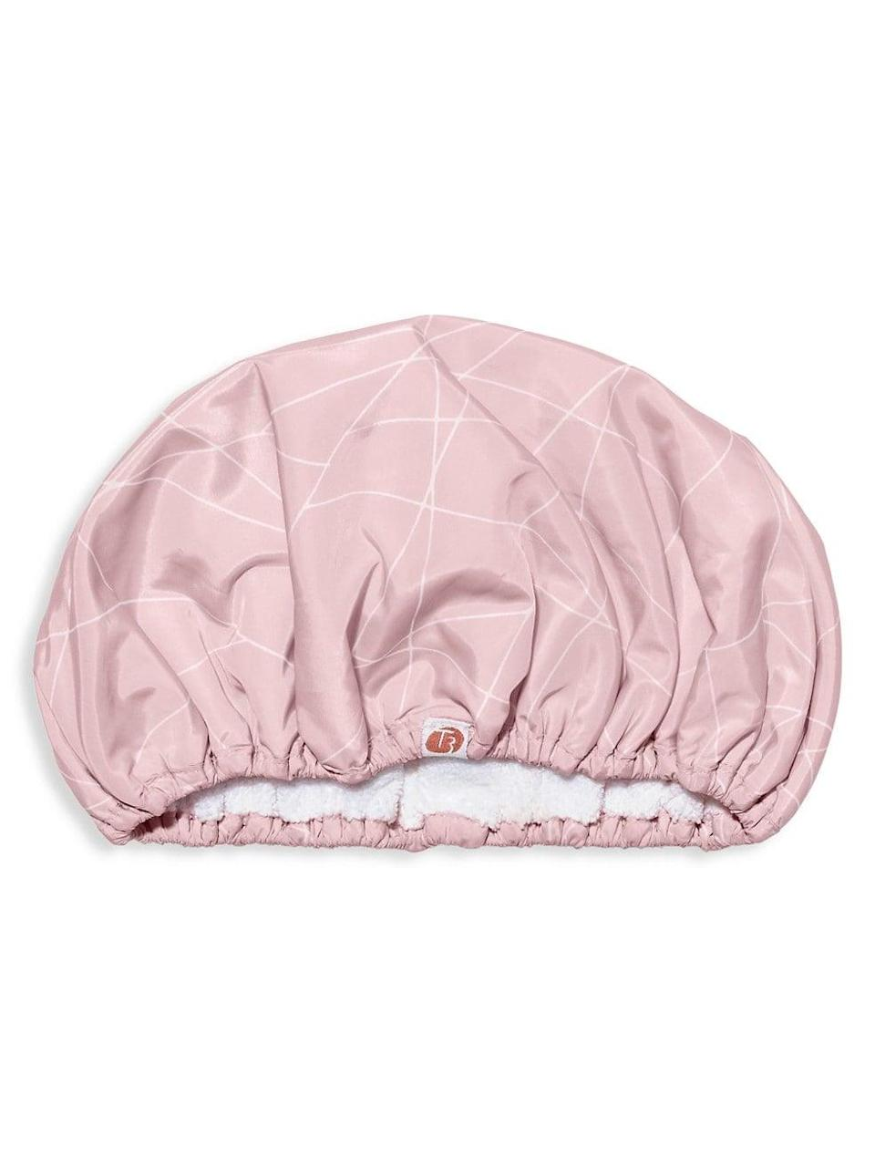 <p><span>T3 Luxe Shower Cap</span> ($35)</p>