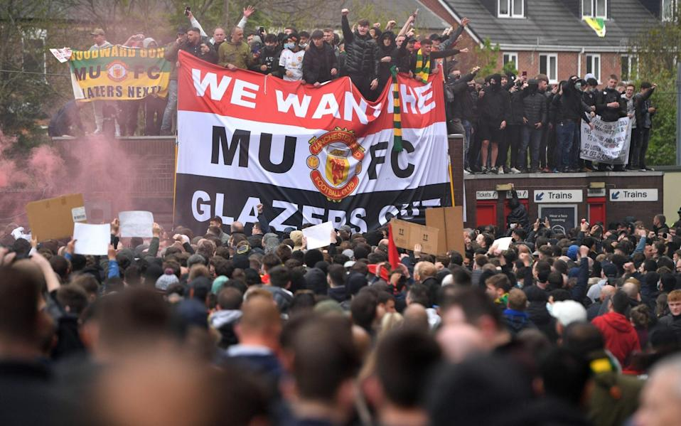 The message is simple from United fans - GETTY IMAGES