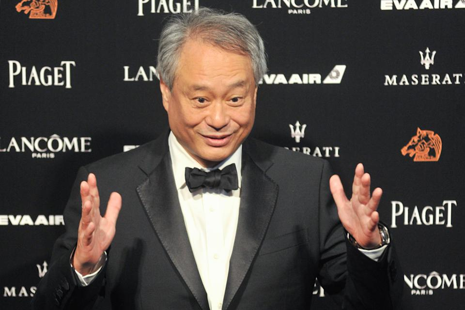 Ang Lee arrives on the red carpet of the 55th Golden Horse film awards on November 17, 2018. (Credit: Mandy Cheng/AFP/Getty Images)