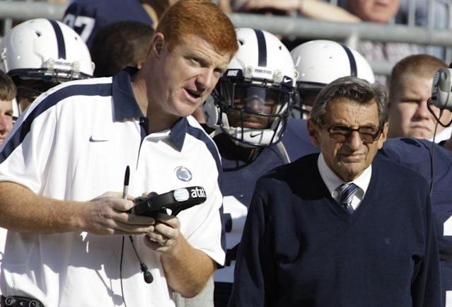 Mike McQueary served as an assistant coach under Joe Paterno at Penn State. (AP)