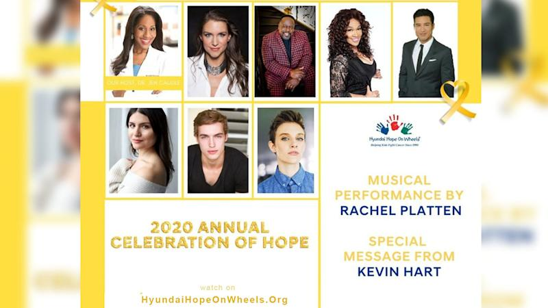 Rachel Platten, Mario Lopes, Jamie Chung, Kevin Hart, Cedric The Entertainer, and More Joined Hyundai Hope On Wheels For Virtual 'Celebration of Hope Awards' On Saturday, September 19