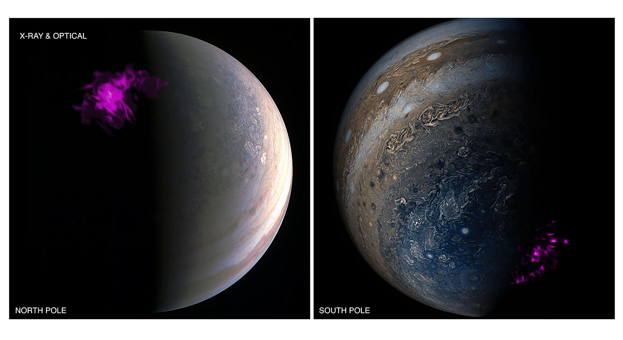 Scientists solve 40-year mystery of Jupiter's X-ray aurora