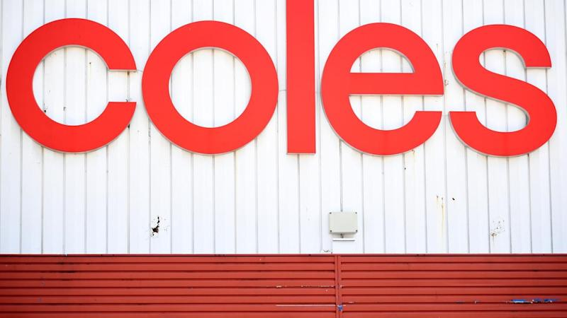 Coles' supermarkets divison delivered better than expected sales growth during the second quarter