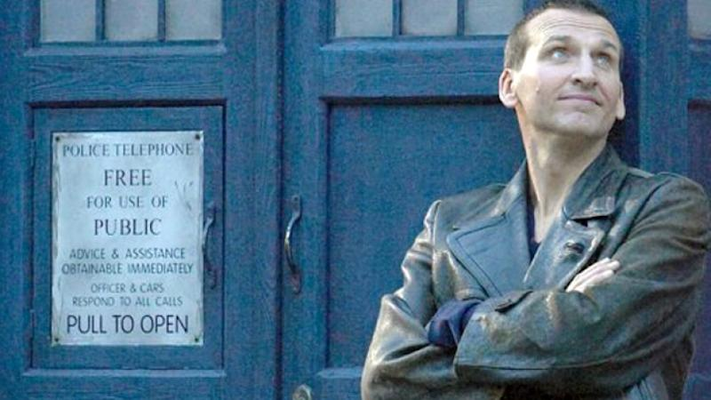 Eccleston as the Doctor (Credit: BBC)