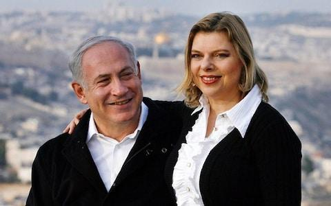 Sara Netanyahu has been questioned by police several times - Credit: Michal Fattal/Likud via Getty Images