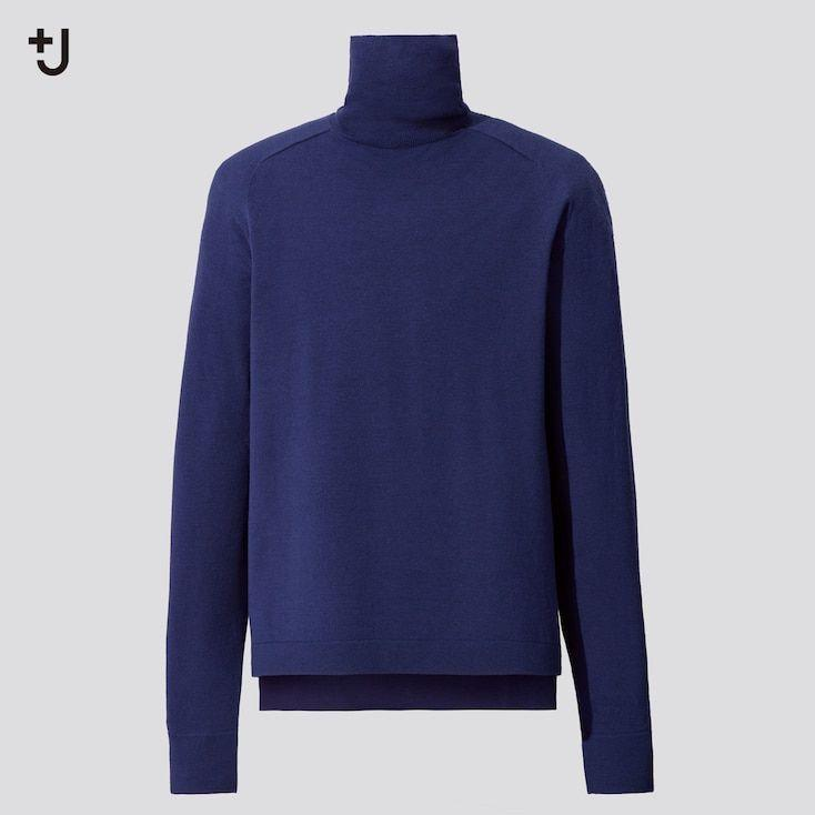 """<p><strong>Uniqlo</strong></p><p>uniqlo.com</p><p><strong>$49.90</strong></p><p><a href=""""https://go.redirectingat.com?id=74968X1596630&url=https%3A%2F%2Fwww.uniqlo.com%2Fus%2Fen%2Fmen-plusj-merino-blend-turtleneck-long-sleeve-sweater-432657.html&sref=https%3A%2F%2Fwww.esquire.com%2Fstyle%2Fmens-fashion%2Fg34654836%2Funiqlo-j-jil-sander-collaboration-2020%2F"""" rel=""""nofollow noopener"""" target=""""_blank"""" data-ylk=""""slk:Buy"""" class=""""link rapid-noclick-resp"""">Buy</a></p><p>If it were up to me, none of our necks would be exposed for a single second all season. </p>"""