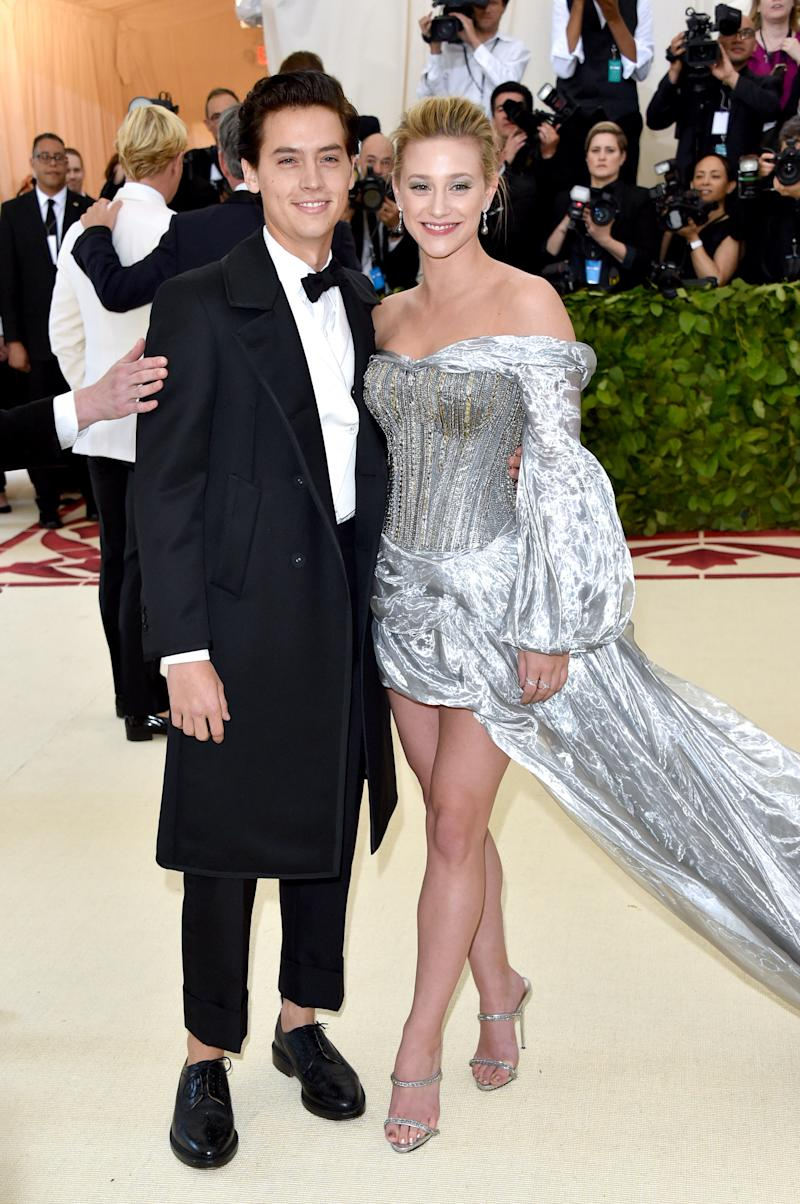 Cole and Lili at the 2018 Met Gala