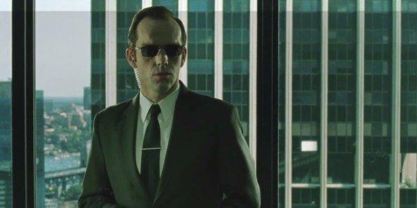 Hugo Weaving is fed up of people misinterpreting The Matrix (Image by Warner Bros)