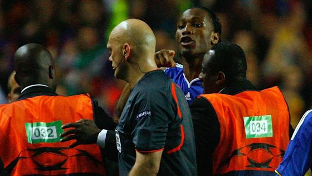<p>Chelsea were left feeling aggrieved by another Scandinavian referee in Europe several years later after Norwegian official Tom Henning Ovrebo turned down multiple penalty appeals in the second leg of the 2008/09 semi-final meeting with Barcelona.</p> <br><p>Chelsea had opened up a slender 1-0 advantage early on the night at Stamford Bridge but were fully aware that it wouldn't be enough should the Catalan visitors find an away goal. As many as four penalty appeals, three of them clear, were waved away by the referee, and in heartbreaking fashion Barça did get their goal when Andres Iniesta bagged a later stunner.</p> <br><p>Didier Drogba couldn't contain his anger at the final whistle, confronting Ovrebo, before yelling 'It's a f***ing disgrace!' into a nearby television camera as colleagues and stewards tried to lead him away down the tunnel.</p>