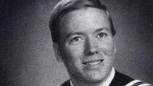 Canadian naval officer and Halifax native Jeffrey Paul Delisle, seen in this 1990 high school yearbook photo, is accused of passing defence secrets to the Russians.