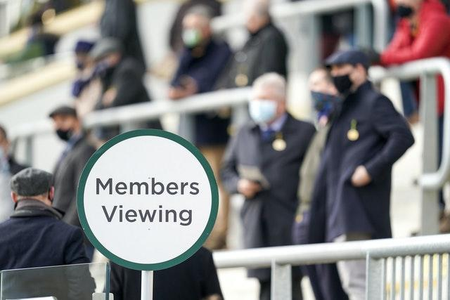 Cheltenham is on the list of race courses able to welcome spectators
