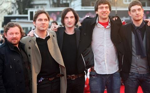 The band in 2007 at the height of Chasing Cars' success - Credit: Paul Grover