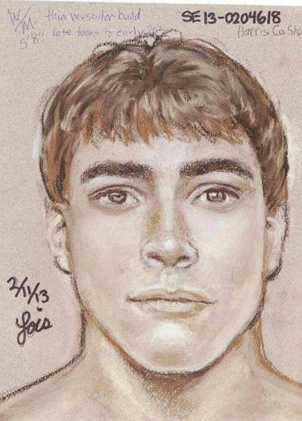 PHOTO: The Harris County Sheriff's Office released this sketch of a man suspected of kidnapping and brutally raping a 16-year-old girl in 2013. (Harris County Sheriff's Office)