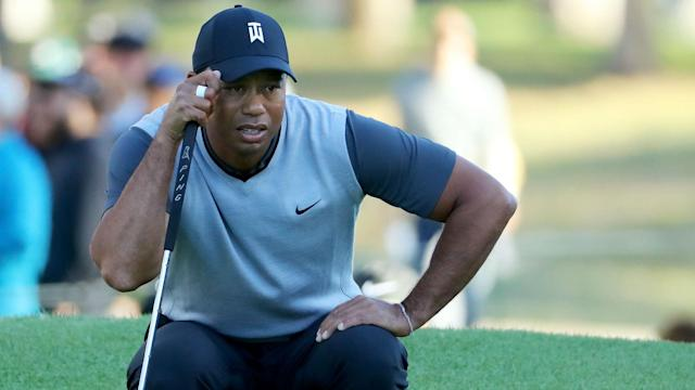 Grouped with Rory McIlroy and Justin Thomas at the Genesis Open, Tiger Woods hit some wild drives and ultimately signed for a one-over 72.