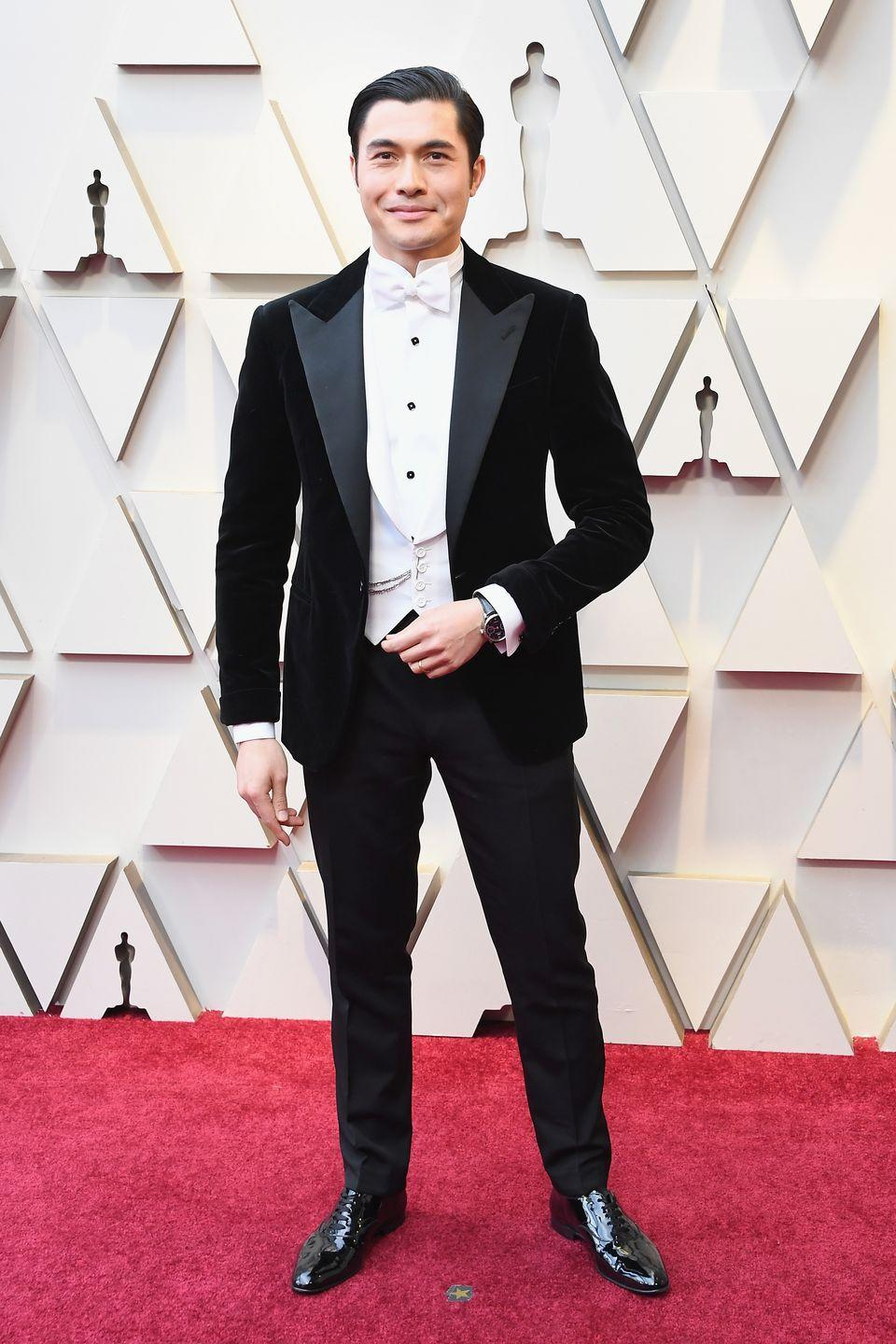<p>After a breakout year as the star of 2018's <em>Crazy Rich Asians</em>, Henry Golding followed his performance up with a role in <em>The Gentleman</em>. But honestly, his red carpet style alone could convince us of his leading man status. </p>
