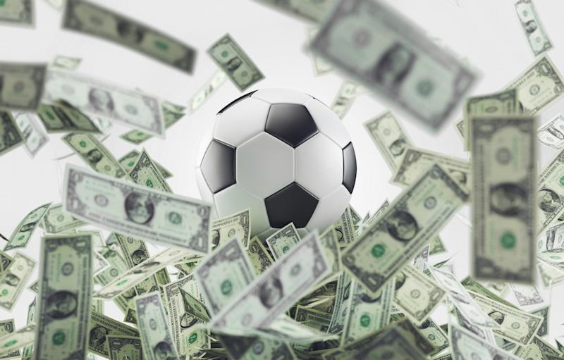 Soccer business, football and money