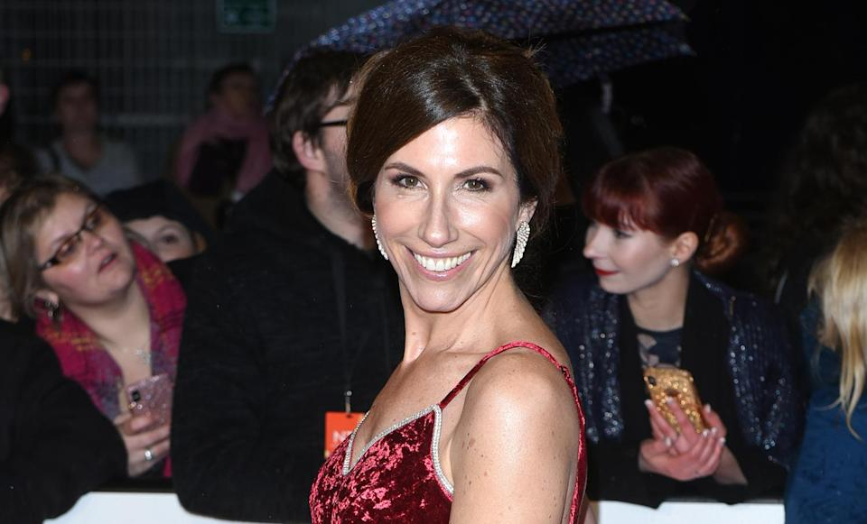 Gaynor Faye attends the National Television Awards held at The O2 Arena on January 22, 2019 in London, England. (Photo by Joe Maher/WireImage)