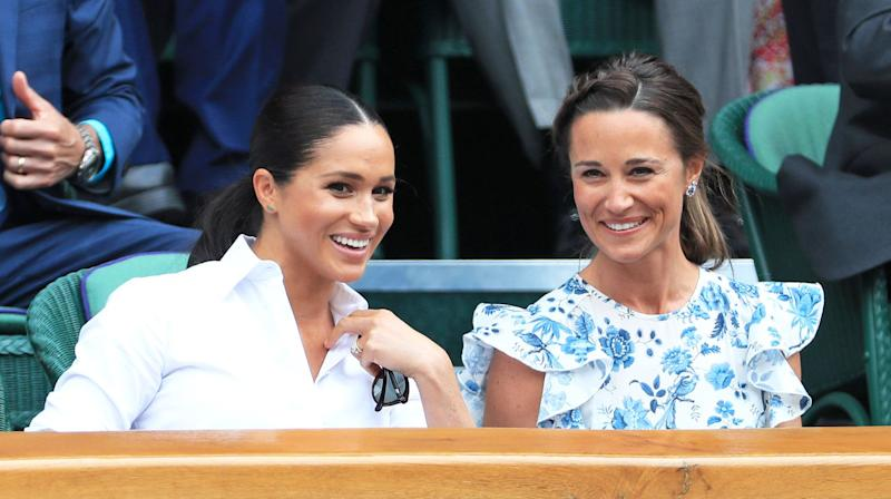 Pippa Middleton Reluctantly Invited Meghan Markle to Her Wedding, Was Afraid She Would 'Overshadow' Her