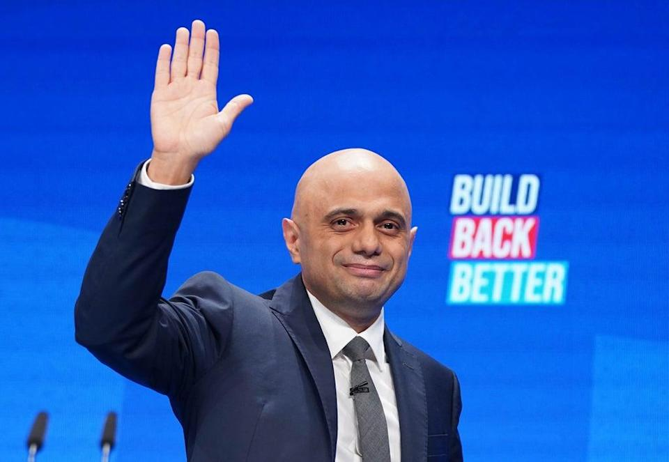 Health Secretary Sajid Javid during the Conservative Party Conference in Manchester (Stefan Rousseau/PA) (PA Wire)