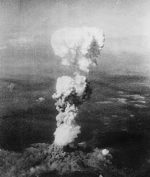 Over 140,000 people were killed after the United States dropped an atomic bomb on Hiroshima on August 6, 1945 (AFP Photo/)