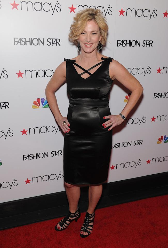 "Designer and 'Fashion Star' participant Lisa Vian Hunter attends the ""<a target=""_blank"" href=""http://tv.yahoo.com/fashion-star/show/47285"">Fashion Star</a>"" celebration at Macy's Herald Square on March 13, 2012 in New York City."