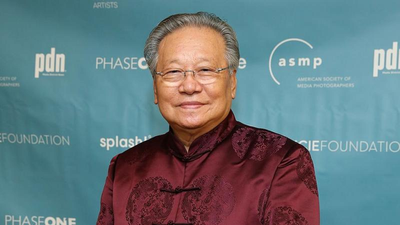Photographer Li Zhensheng, attends the 11th Annual Lucie Awards at Zankel Hall, Carnegie Hall on October 27, 2013