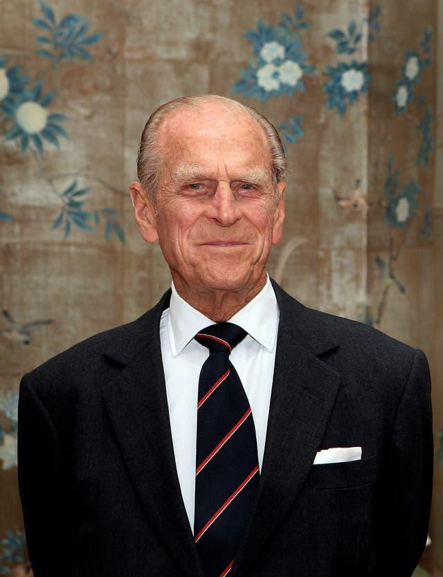 A smiling Philip on royal duty