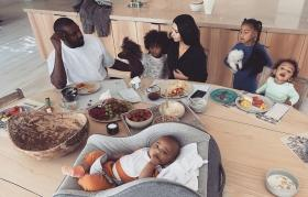 Kim Kardashian claims her kids are vegan except for daughter North
