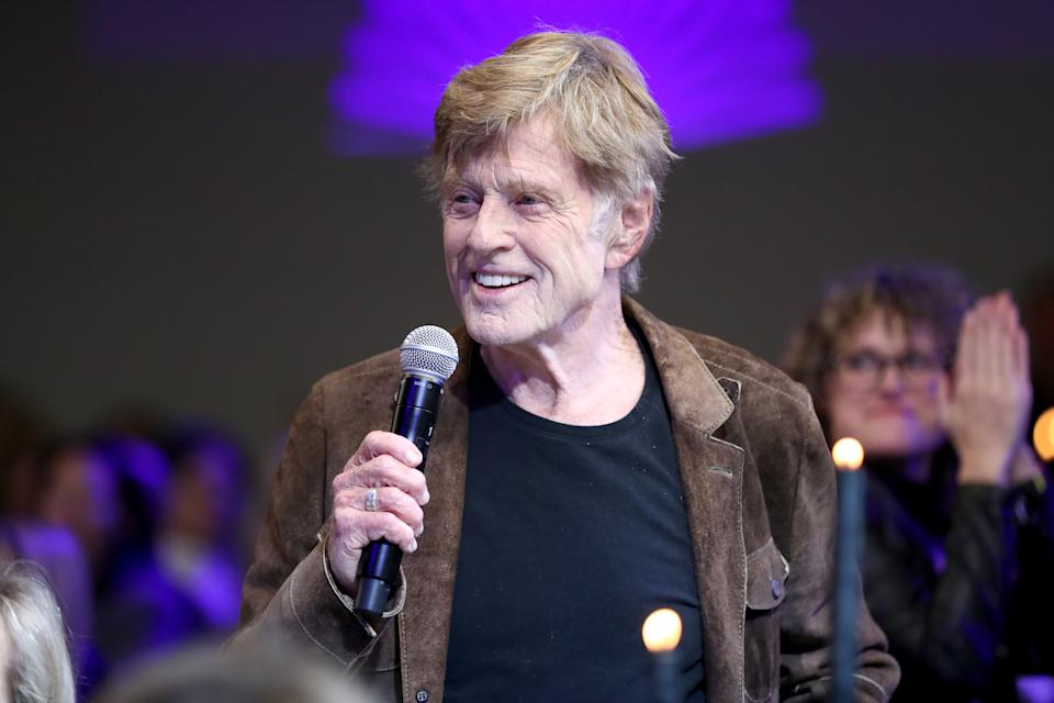 Robert Redford attends Sundance Institute's 'An Artist at the Table Presented by IMDbPro' at the 2020 Sundance Film Festival. (Photo by Rich Polk/Getty Images for IMDb)