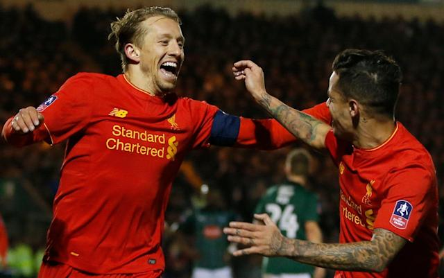Lucas Leiva may leave Liverpool after a decade in search of more playing time - Action Images