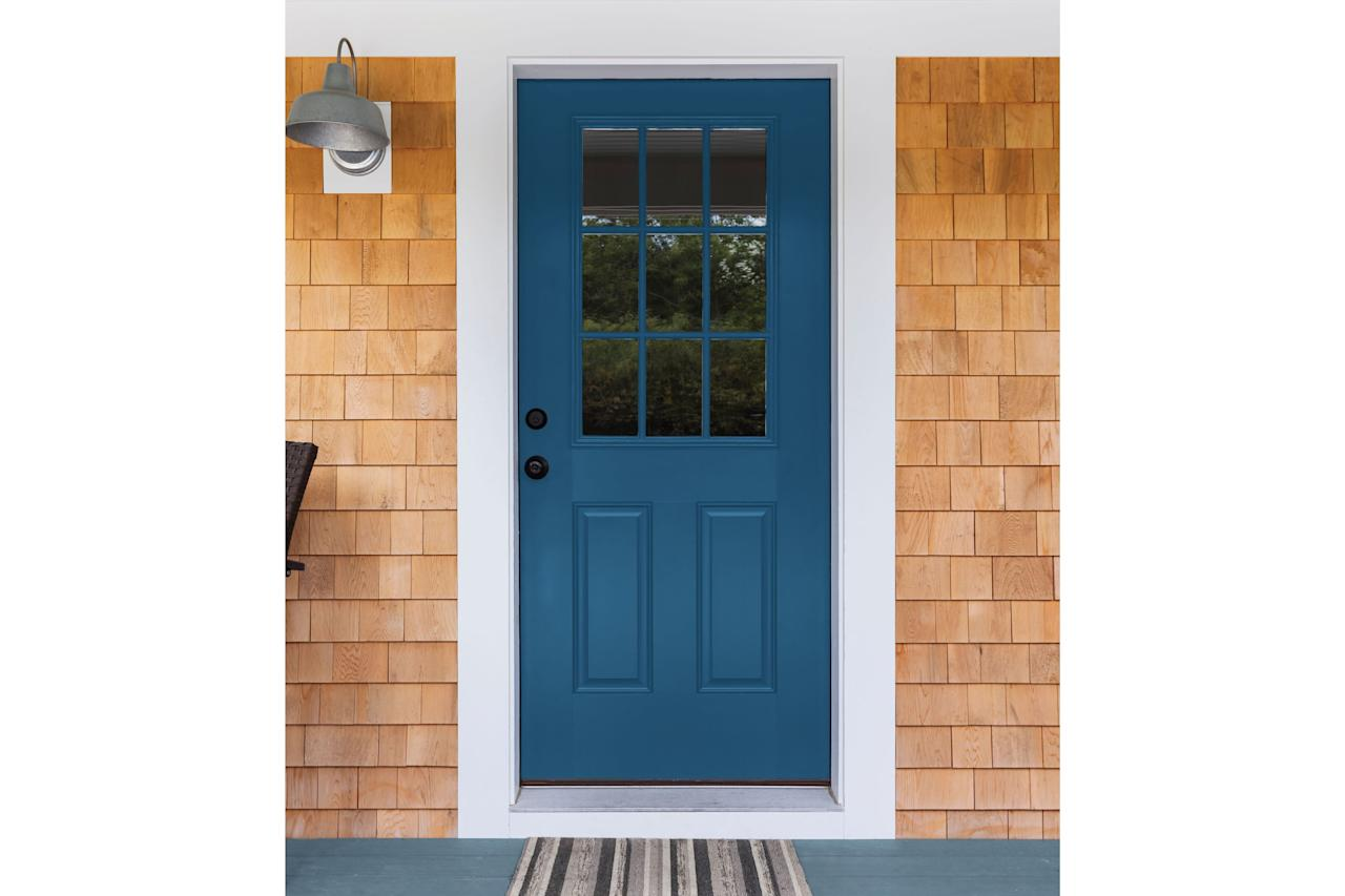 "<p>We love when a paint company's color of the year is a natural in beach houses. That's the case with PPG's <a href=""https://www.coastalliving.com/homes/2020-color-of-year-ppg"" target=""_blank"">chosen hue for 2020, Chinese Porcelain</a>. The shade is ""a blend of cobalt and moody ink blue that imparts calmness and restful sleep while also offering the spirit of hopefulness,"" says PPG. In 2020, PPG predicts a shift toward mood-boosting hues like blue, thanks to our need for simplicity and escapism from technology. </p>"