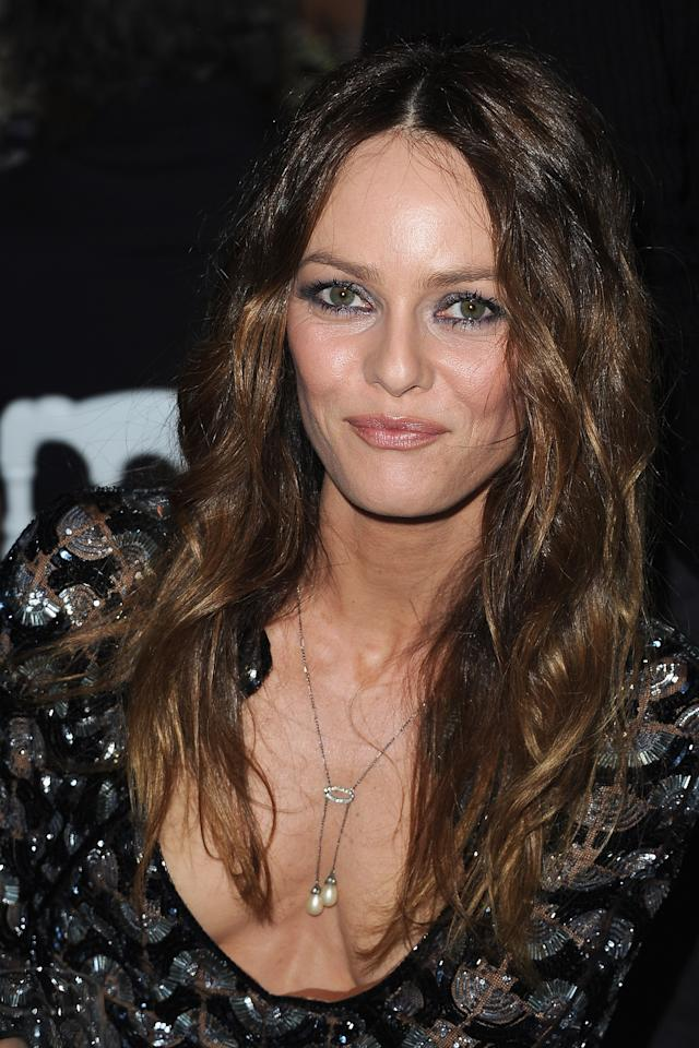 PARIS, FRANCE - JANUARY 26:  Vanessa Paradis attends the Sidaction Gala Dinner 2012 at Pavillon d'Armenonville on January 26, 2012 in Paris, France.  (Photo by Pascal Le Segretain/Getty Images)
