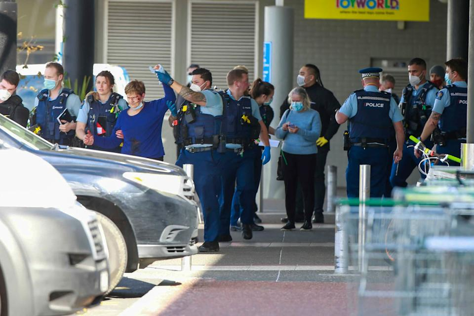 New Zealand authorities said Friday they shot and killed a violent extremist after he entered a supermarket and stabbed and injured several shoppers. Source: AP