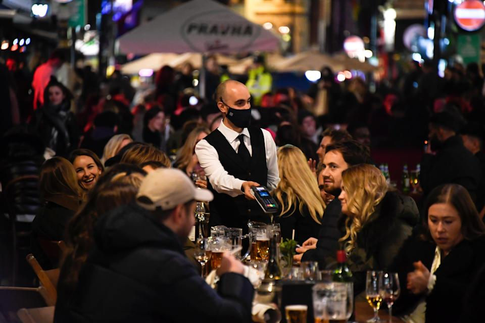 The US restaurant industry is still down nearly 2 million jobs from last year (Copyright 2020 The Associated Press. All rights reserved)