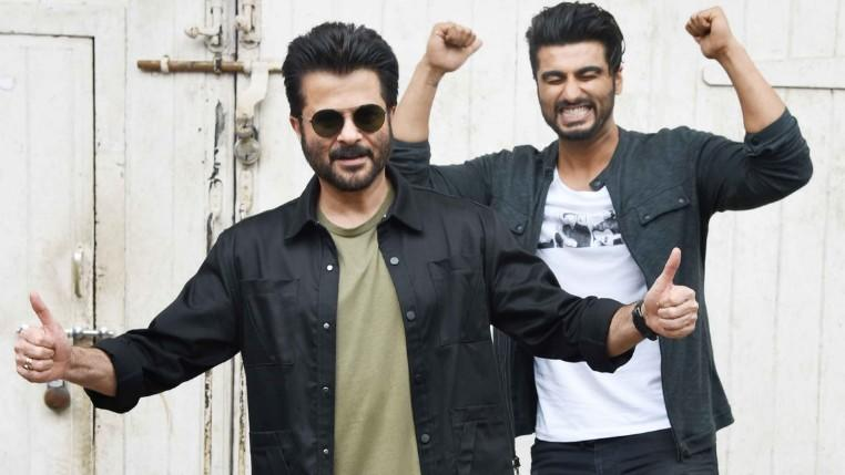 Watch: Anil and Arjun Kapoor Are Having a 'Jhakaas' Time