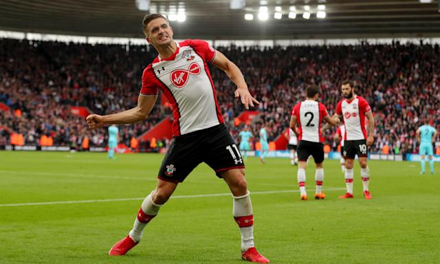 Dusan Tadic scored twice to help Southampton to a vital 2-1 how win against Bournemouth, only their sixth league victory this season.