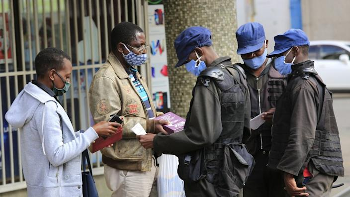 Zimbabwe's lockdown was eased in May