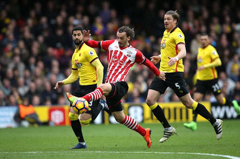 Gabbiadini scored his sixth goal in four games to secure a Saints win: Getty Images