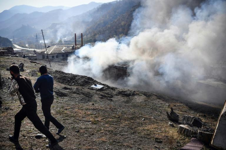 Residents of the Kalbajar district, which has been controlled by Armenian separatists for decades, have begun a mass exodus