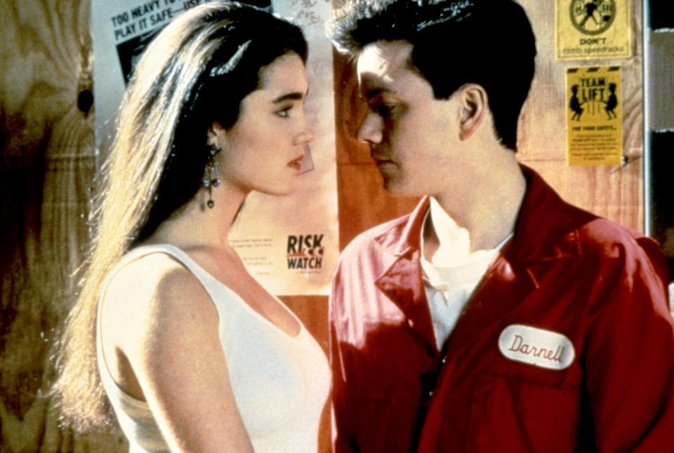 Jennifer Connelly as Josie and Frank Whaley as Jim in the 1991 film, 'Career Opportunities,' written by John Hughes (Universal /Courtesy Everett Collect)