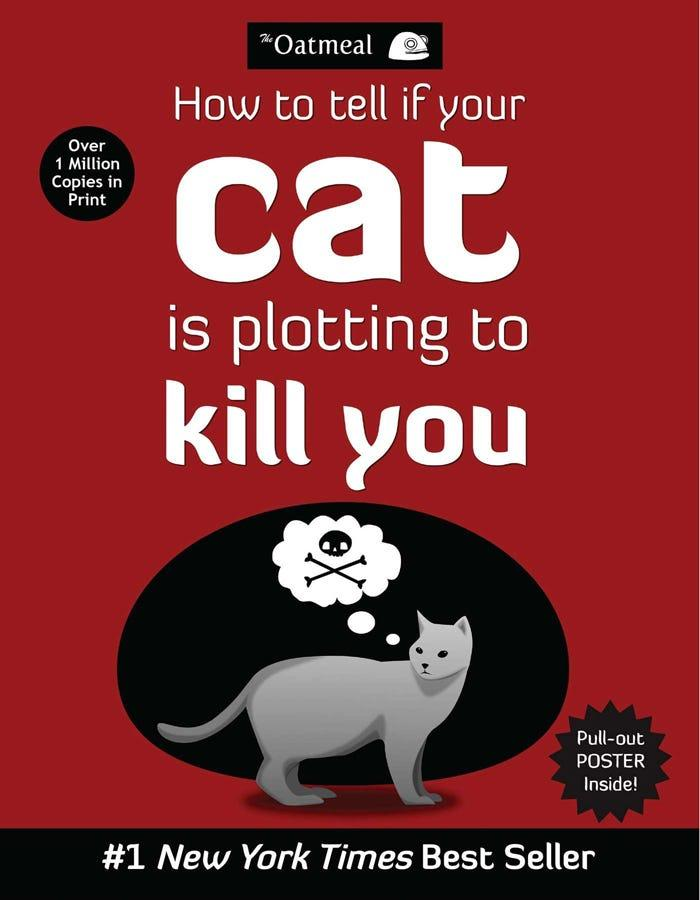 how to tell if your cat can kill you book