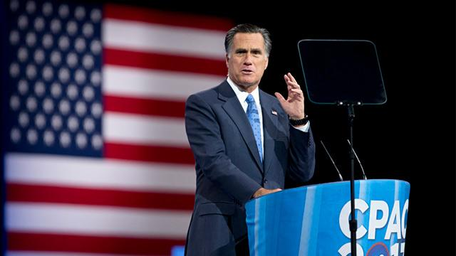 Transcript: Mitt Romney's Speech at the 2013 Conservative Political Action Conference